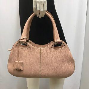 TOD'S Pink Blush Bag Silver Tone Hardware